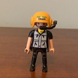 Playmobil Figure with helmet